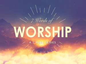 7 Words of Worship Icon